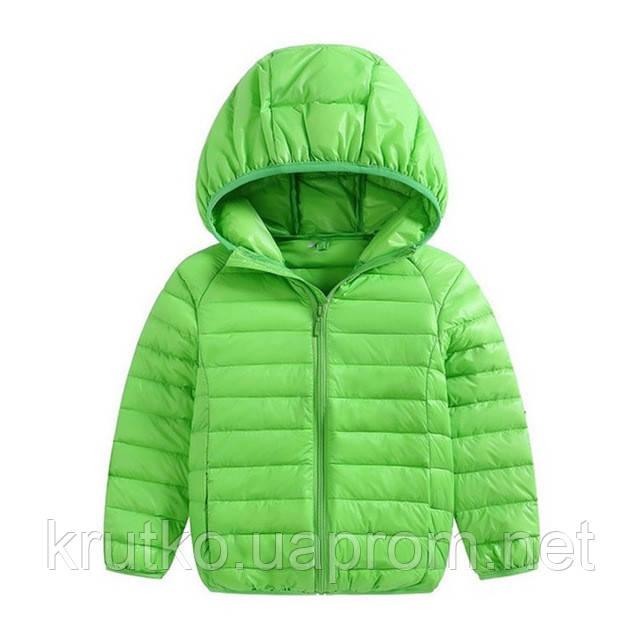 Куртка весенняя для мальчика Полоска, салатовый Berni
