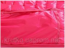 Куртка весенняя для девочки Полоска, розовый Berni, фото 3