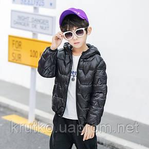 Куртка для мальчика Airways, черный Berni, фото 2