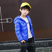 Куртка для мальчика Airways, синий Berni, фото 2