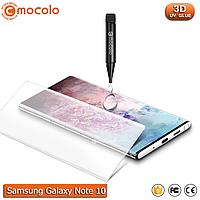 Захисне скло Mocolo Samsung Galaxy Note 10 Nano Optics UV Liquid Tempered Glass 3D (Clear), фото 1