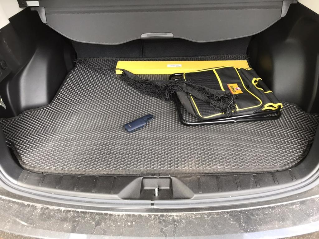 Наш коврик в багажник Subaru Forester '13-18