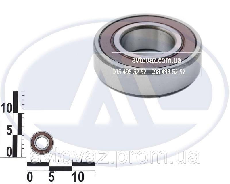 Подшипник КПП ВАЗ 2101 вал вторичный, задняя опора (6-180205 (6205-2RS.P6)) 23 ГПЗ