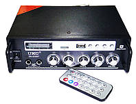 Усилитель звука UKC SN-838BT USB SD Bluetooth, фото 3