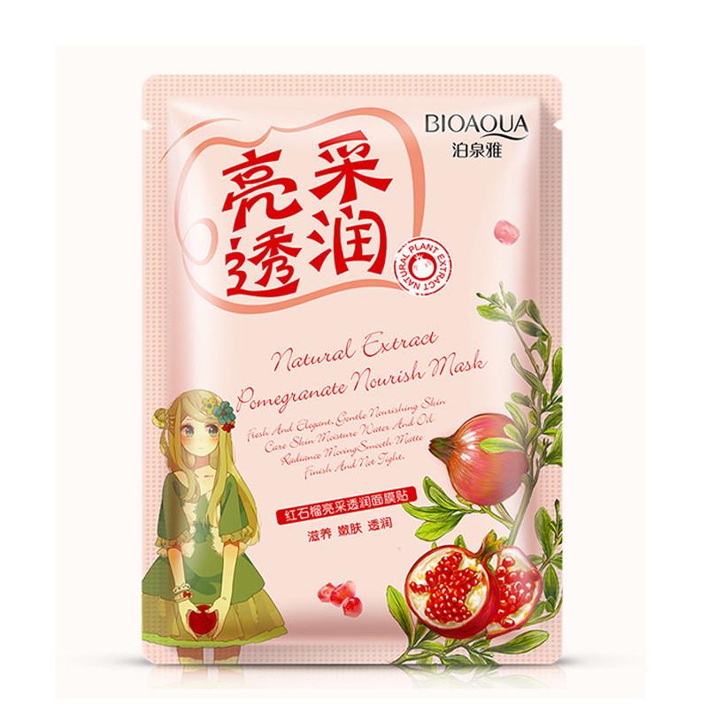 Питательная маска с экстрактом граната Bioaqua Natural Extract Pomegranate Nourish Mask (30г)