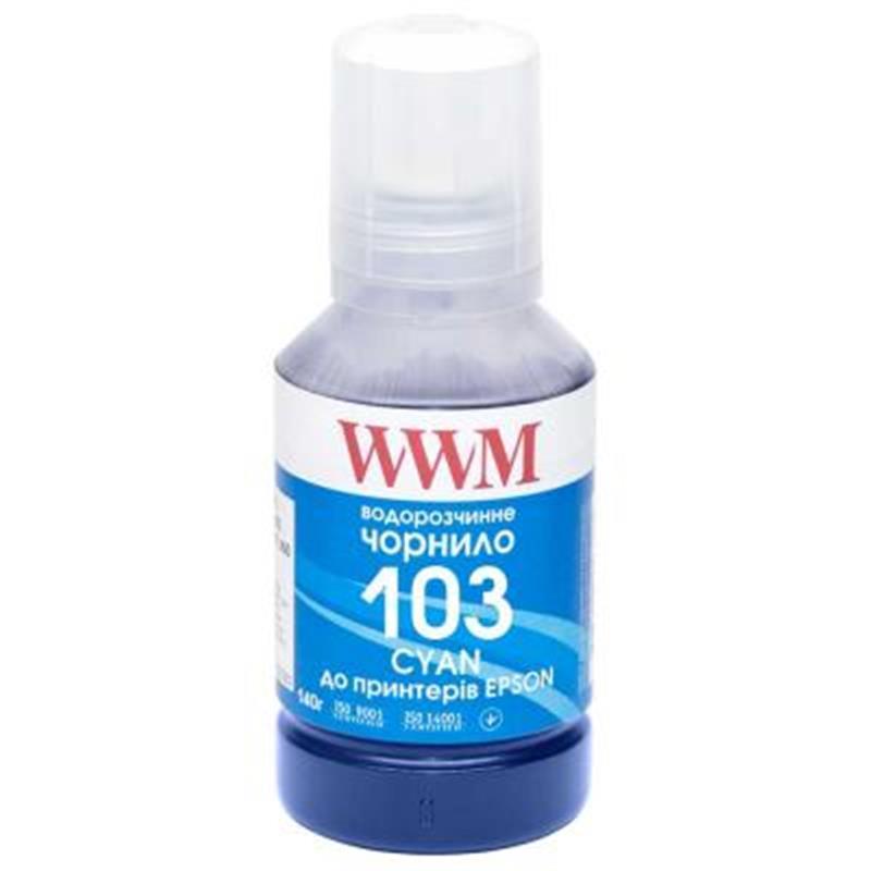 Чернила WWM Epson L3100/3110/3150 (Cyan) (E103C) 140г