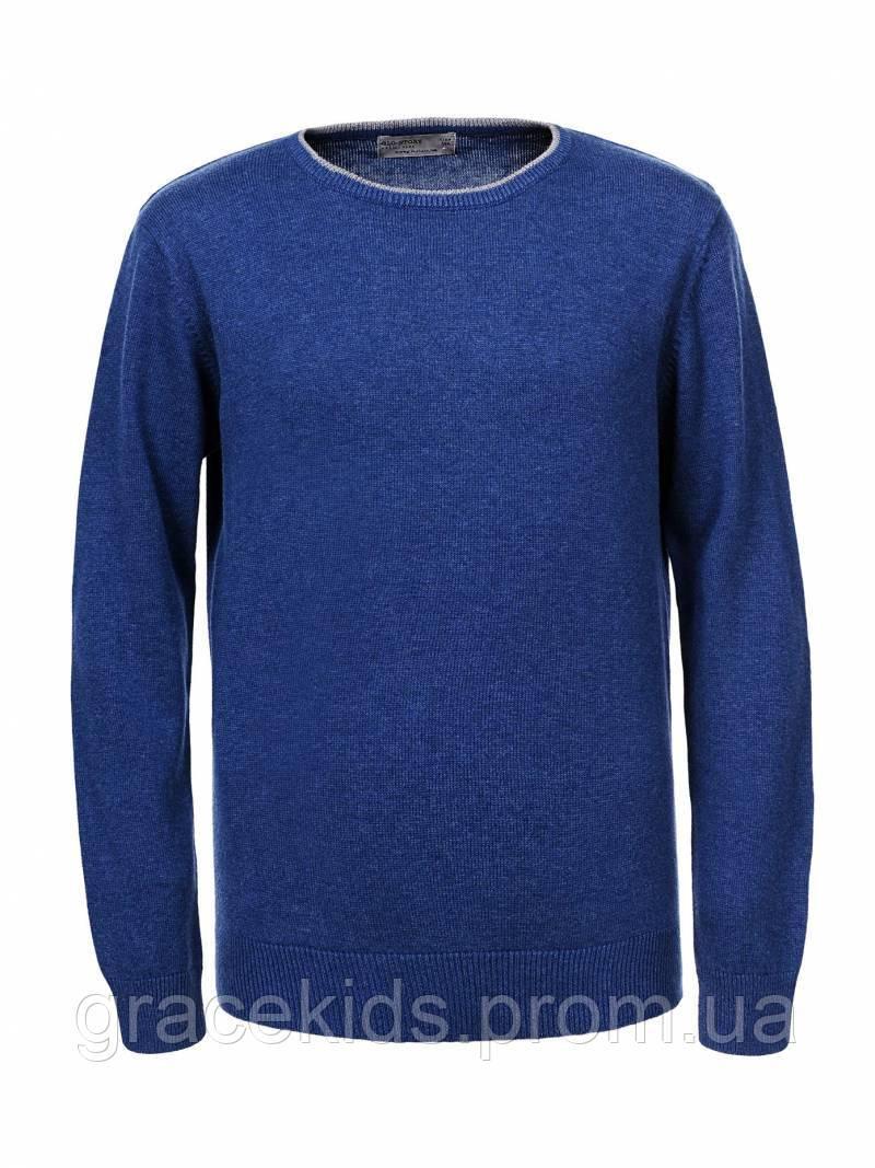 Детские тонкие свитера для мальчиков  оптом Glo-story,100%хлопок,разм 110-160 см