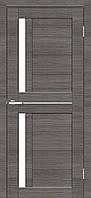 Двери межкомнатные Омис Deco 01 Cortex, цвет дуб ash line (аш лайн)