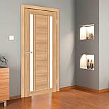 Двери межкомнатные Омис Deco 01 Cortex, цвет дуб tobacco, фото 2