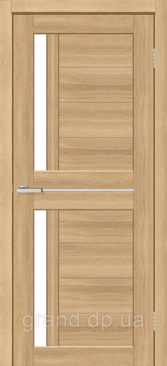 Двери межкомнатные Омис Deco 01 Cortex, цвет дуб tobacco