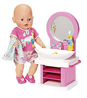 Интерактивный умывальник для куклы Baby Born - Водные Забавы 827093 Zapf Creation