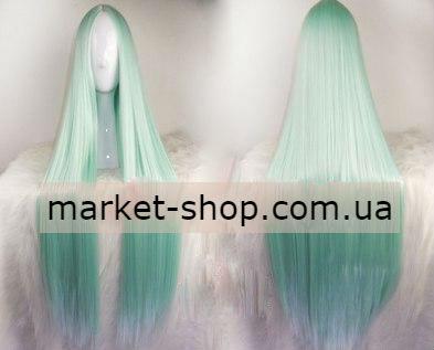 Парик светлый нефрит 100см без челки ( волосы искусственные) Купить парик недорого Украина!