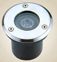 Грунтовый тротуарный светодиодный светильник 1W AC65-265V