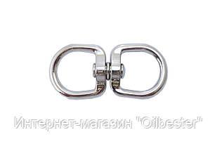 Вертлюг кольцо-кольцо Apro - 6 мм, никель