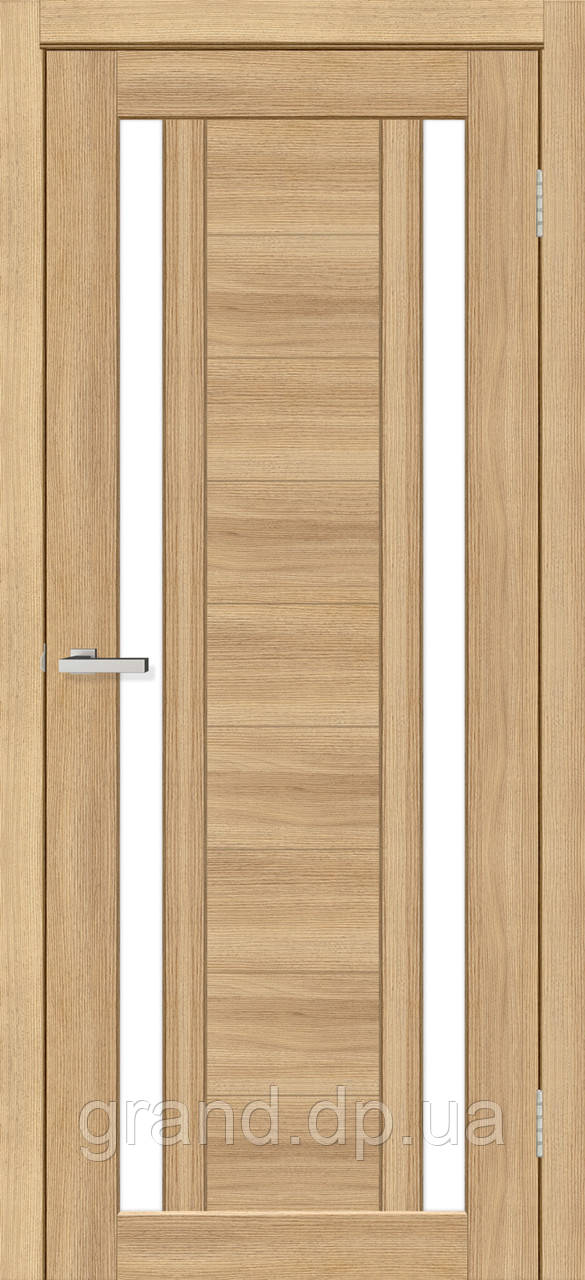 Двери межкомнатные Омис Deco 02 Cortex, цвет дуб tobacco
