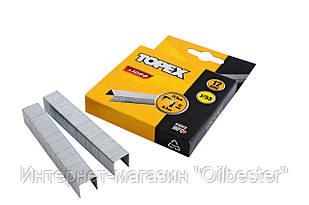 Скоба Topex - 12 х 0,7 мм (1000 шт.)