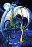 Постер Фэнтези Дракон (dragon), 40.6х50.8 см