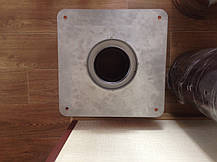 Дымоходная платформа переходная (сэндвич) из нержавейки в нержавеющем кожухе Версия-Люкс, фото 3