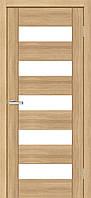 Двери межкомнатные Омис Deco 04 Cortex, цвет дуб tobacco