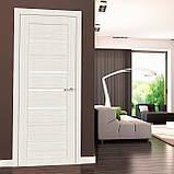 Двери межкомнатные Омис Deco 06 Cortex, цвет дуб bianco, фото 2