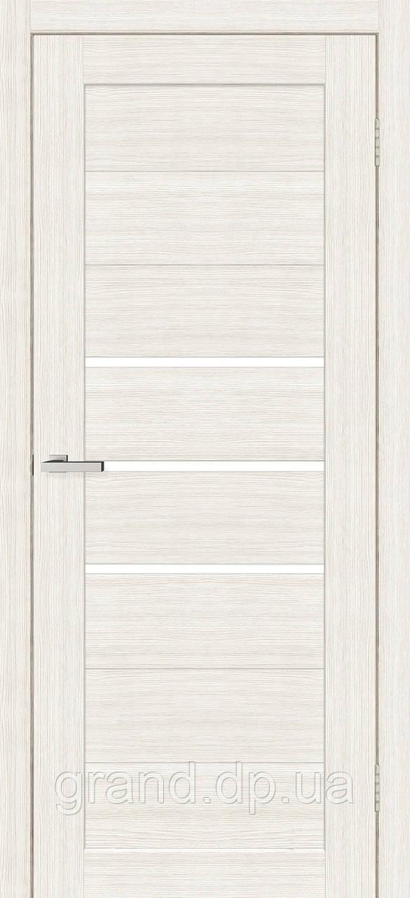 Двери межкомнатные Омис Deco 06 Cortex, цвет дуб bianco