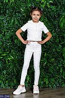 Детский повседневный костюм для девочки . Р.122-146. Новый.(BG-2248)