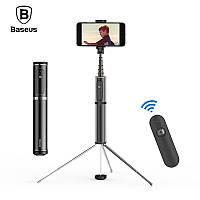 Селфи палка беспроводной монопод-штатив Baseus Fully Folding Bluetooth Selfie Stick SUDYZP-D1S (Черная)