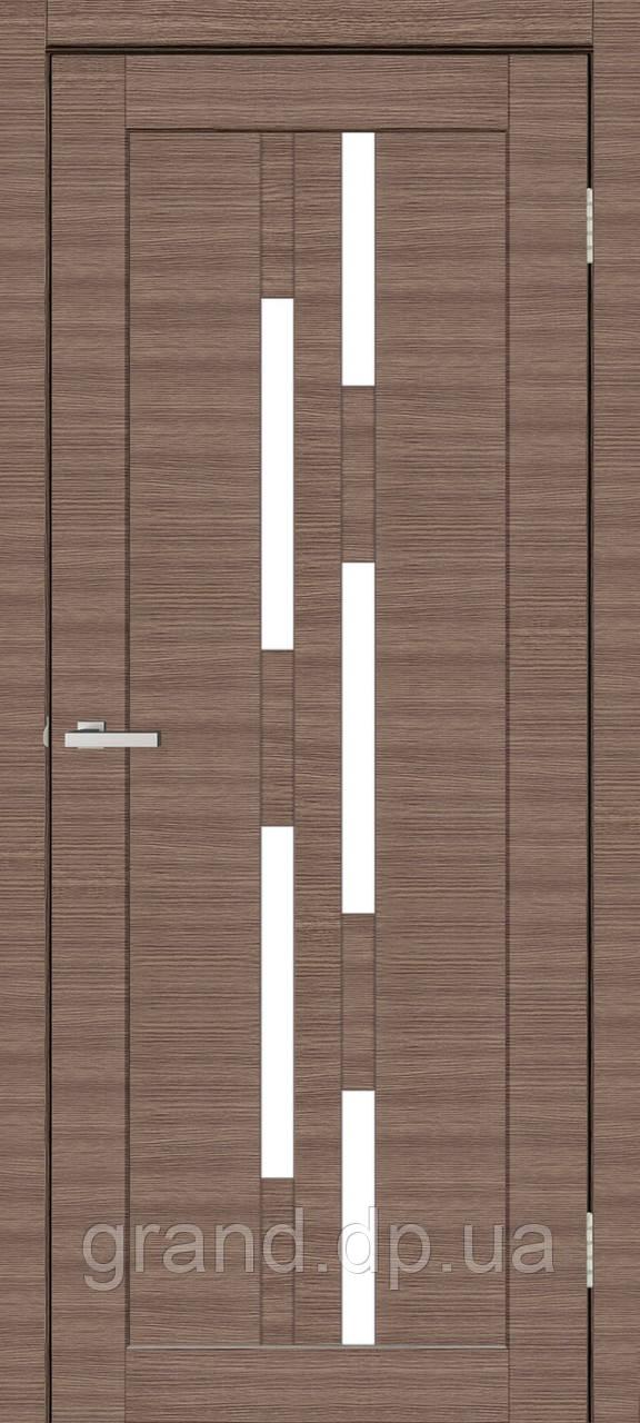 Двери межкомнатные Омис Deco 08 Cortex, цвет дуб amber line