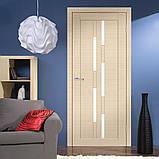 Двери межкомнатные Омис Deco 08 Cortex, цвет дуб latte line, фото 2