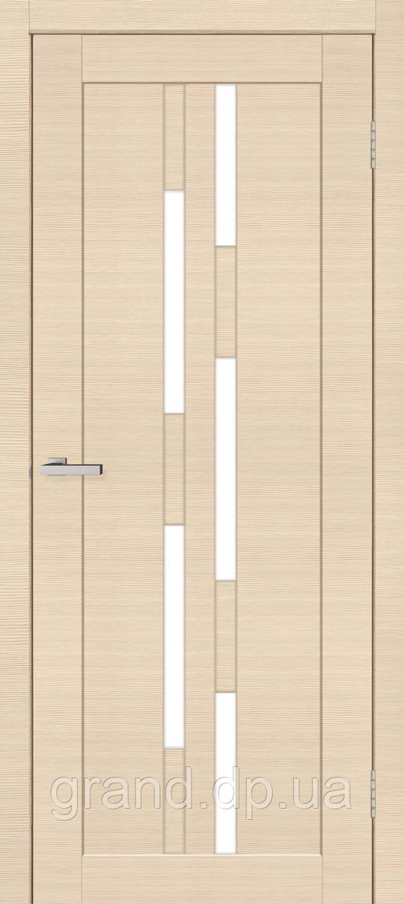 Двери межкомнатные Омис Deco 08 Cortex, цвет дуб latte line