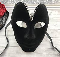 Карнавальная черная маска