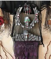 Декор на Хэллоуин Welcome с мигающими глазами музыкальный