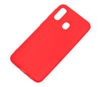 Чехол Силиконовый (TPU) SMTT накладка для Xiaomi Redmi 7 Красный