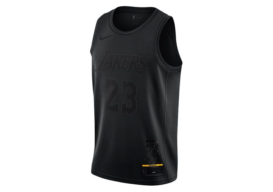 new styles 05237 20b78 NIKE NBA MVP LOS ANGELES LAKERS LEBRON JAMES JERSEY BLACK