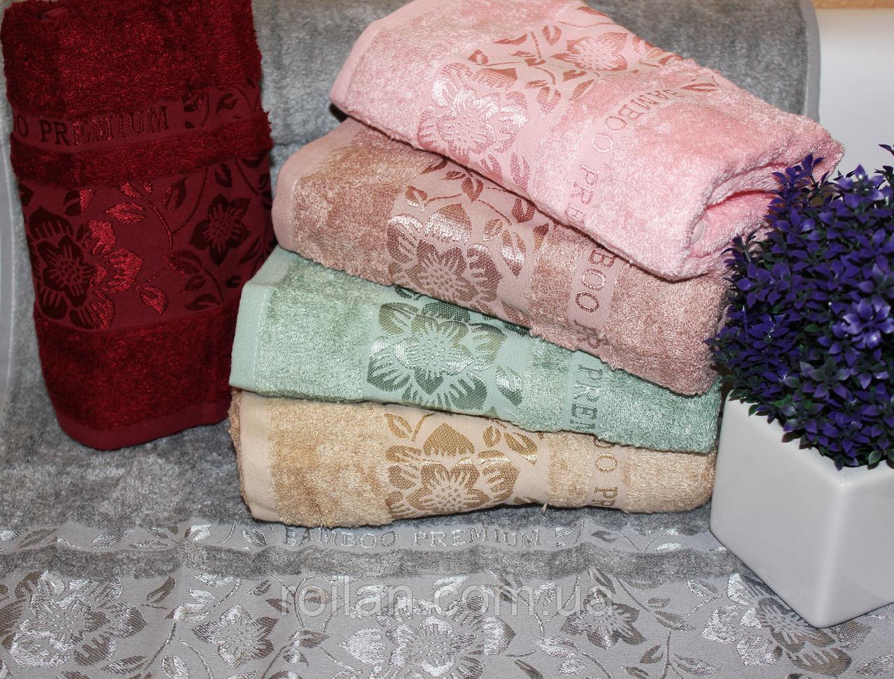 Метровые бамбуковые полотенца Пион