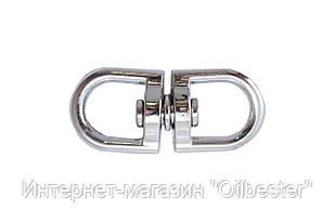 Вертлюг кольцо-кольцо Apro - 3,5 мм, никель