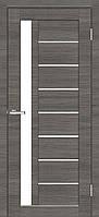Двери межкомнатные Омис Deco 09 Кортекс (Cortex), цвет amber line