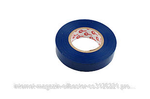 Лента изоляционная Intertool - 10 м, синяя