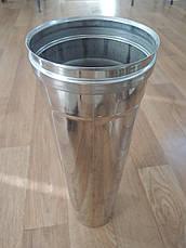 Дымоходная труба из нержавеющей стали (одностенный) Ø 100 Версия-Люкс, фото 3