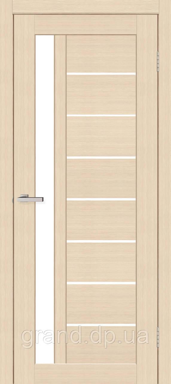 Двери межкомнатные Омис Deco 09 Кортекс ( Cortex), цвет latte