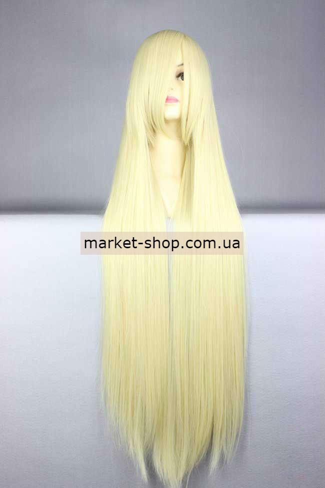 Парик 100см с челкой ( волосы искусственные) Купить парик недорого Украина!