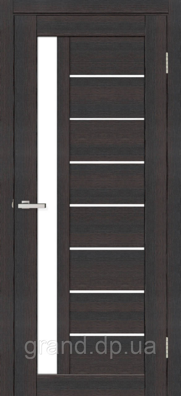 Двери межкомнатные Омис Deco 09 Кортекс (Cortex), цвет wenge