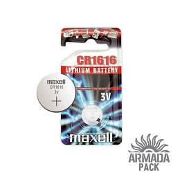 Батарейка Maxell  CR1616 3V литиевая (1 шт)