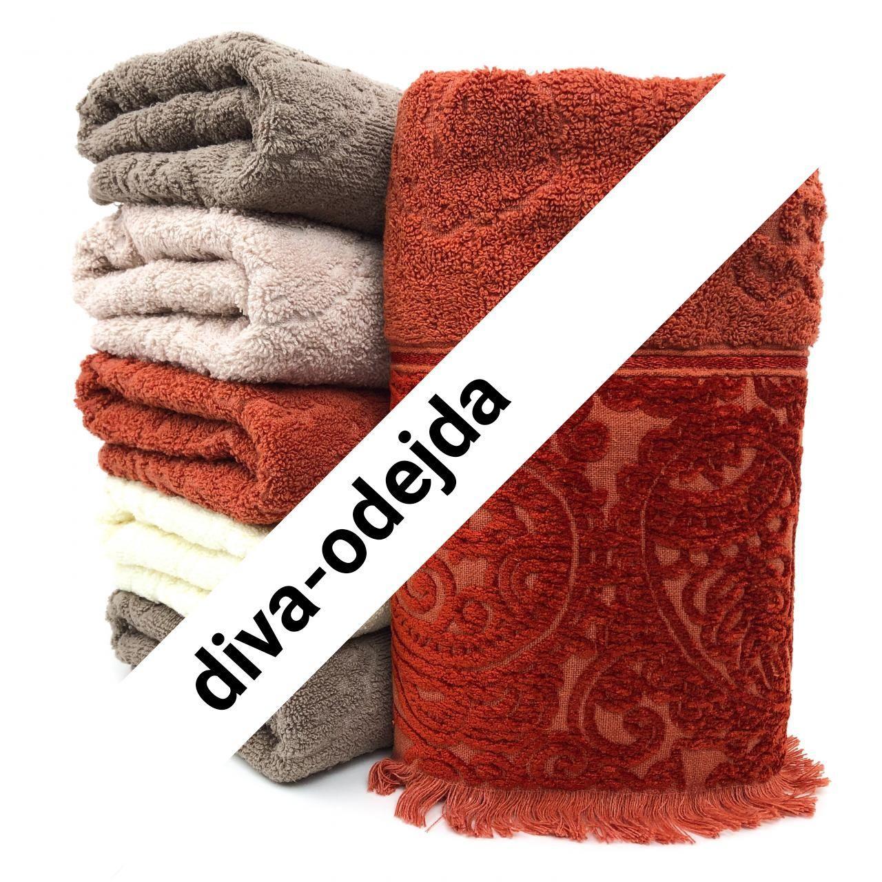 Банное полотенце с бахрамой.Размер:1,4 x 0,7