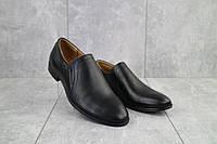 Туфли Stas 161-09-11 (весна/осень, мужские, натуральная кожа, черный), фото 1