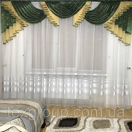 Ламбрекен для зала спальни №393, фото 2
