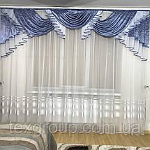 Ламбрекен для зала спальни №393, фото 3