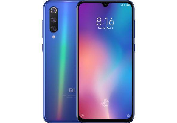 Смартфон безрамочный с тройной камерой 48+13+8Мп и селфи-камерой 20Мп 6/64Gb Xiaomi MI 9 SE голубой