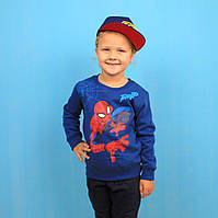 Кофта Spider-Man для мальчика с начесом MARVEL размер 98,104 см