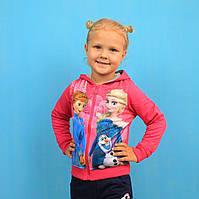Кофта на замке Фрозен для девочки MARVEL размер 98,104,110,116,122,128,134 см